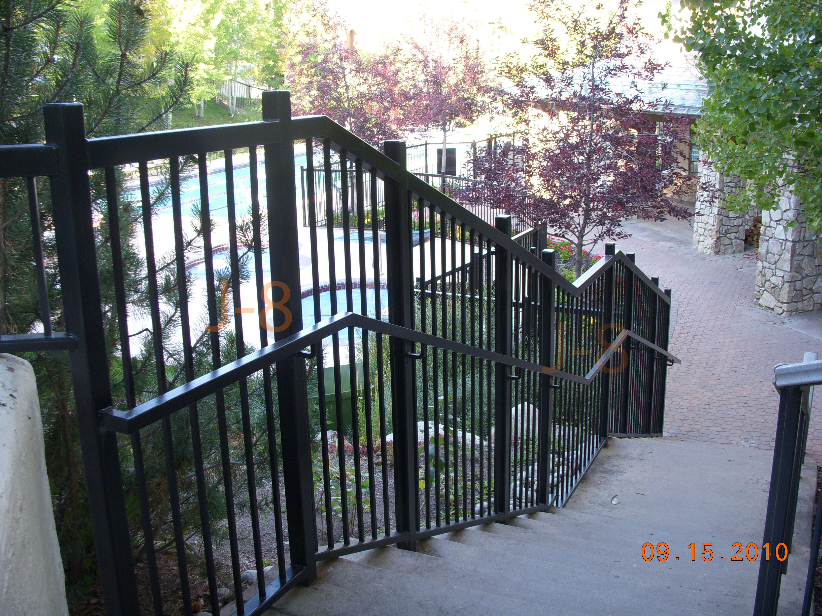 5 Foot Pool Railing