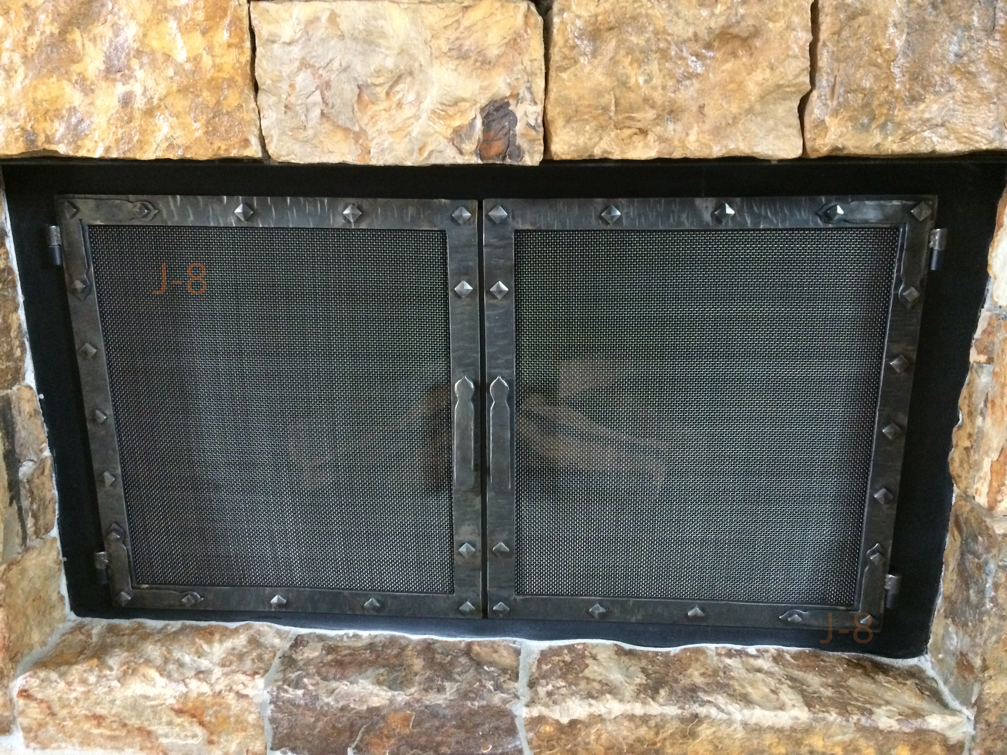 Screen Fireplace Doors