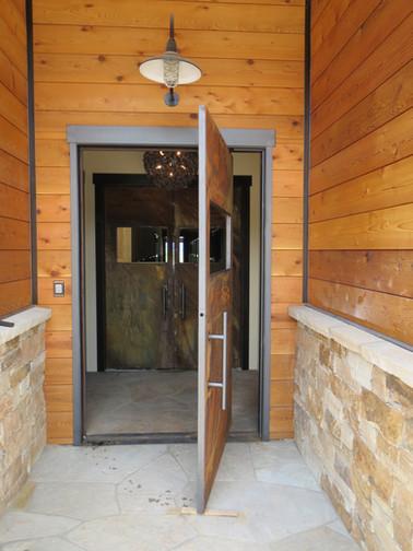Exterior Pivot Door