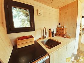 cuisine tiny house d'aurelie