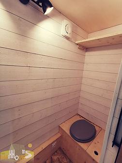 toilette seche Tiny House d'Aurelie