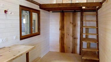 intérieur tiny house canopée