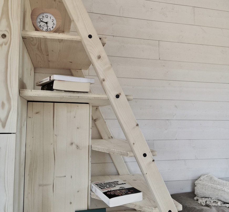 escalier tiny house d'aurelie