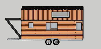 plan 3d tiny house canopée