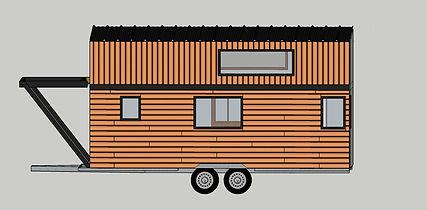 plan 3d tiny house canopée