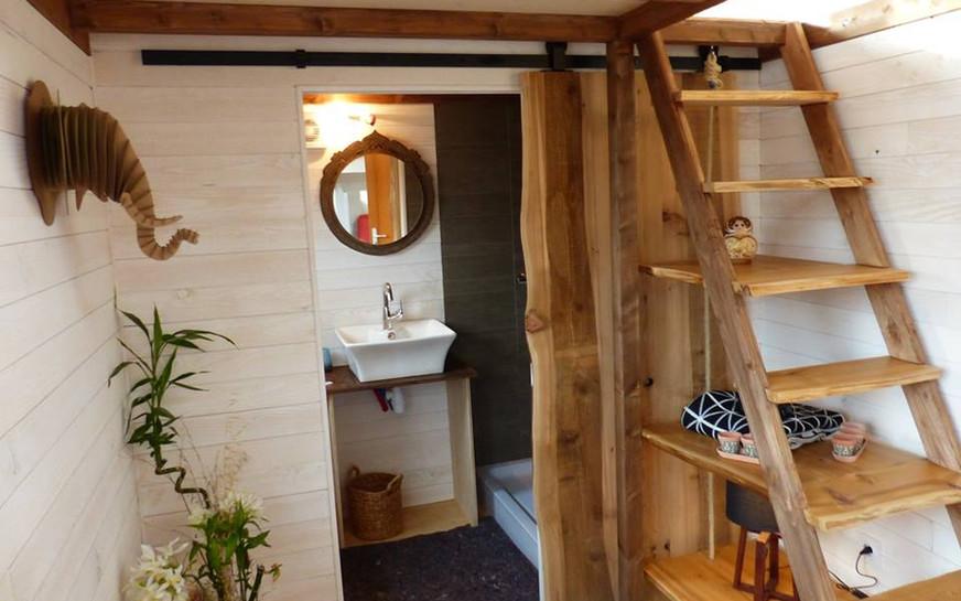 porte sdb ouverte tiny house canopée