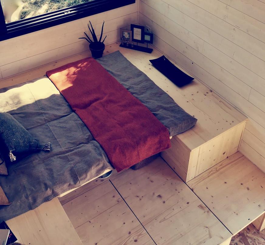 séjour mode lit tiny house d'aurelie