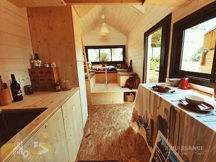vue ensemble séjour Tiny House d'Aurélie