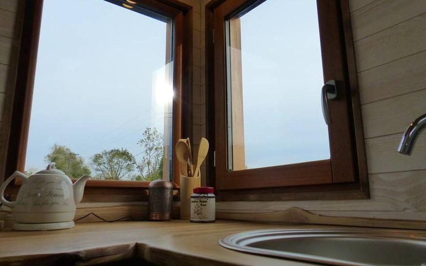 coin cuisine tiny house canopée