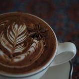 Dark chocolate spice latte