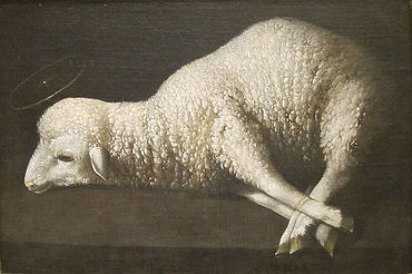 640px-Agnus_Dei_(The_Lamb_of_God)_by_Zur