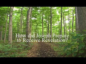 how did Joseph Prepare to Receive Revela