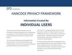 Hancock Privacy Patterns & Framework