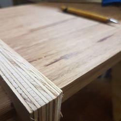 Almost there - Origami Chair_#woodworking #marcenaria #braziliandesign #productdesign