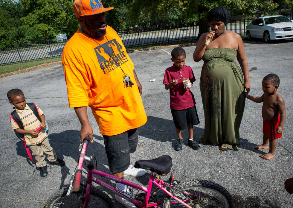 """Key has give away over 100 bikes since founding the bike club. """"I get about 50 bikes a week,"""" said Key. He has officially registered as any-profit and can given away 4 scholarships a year."""