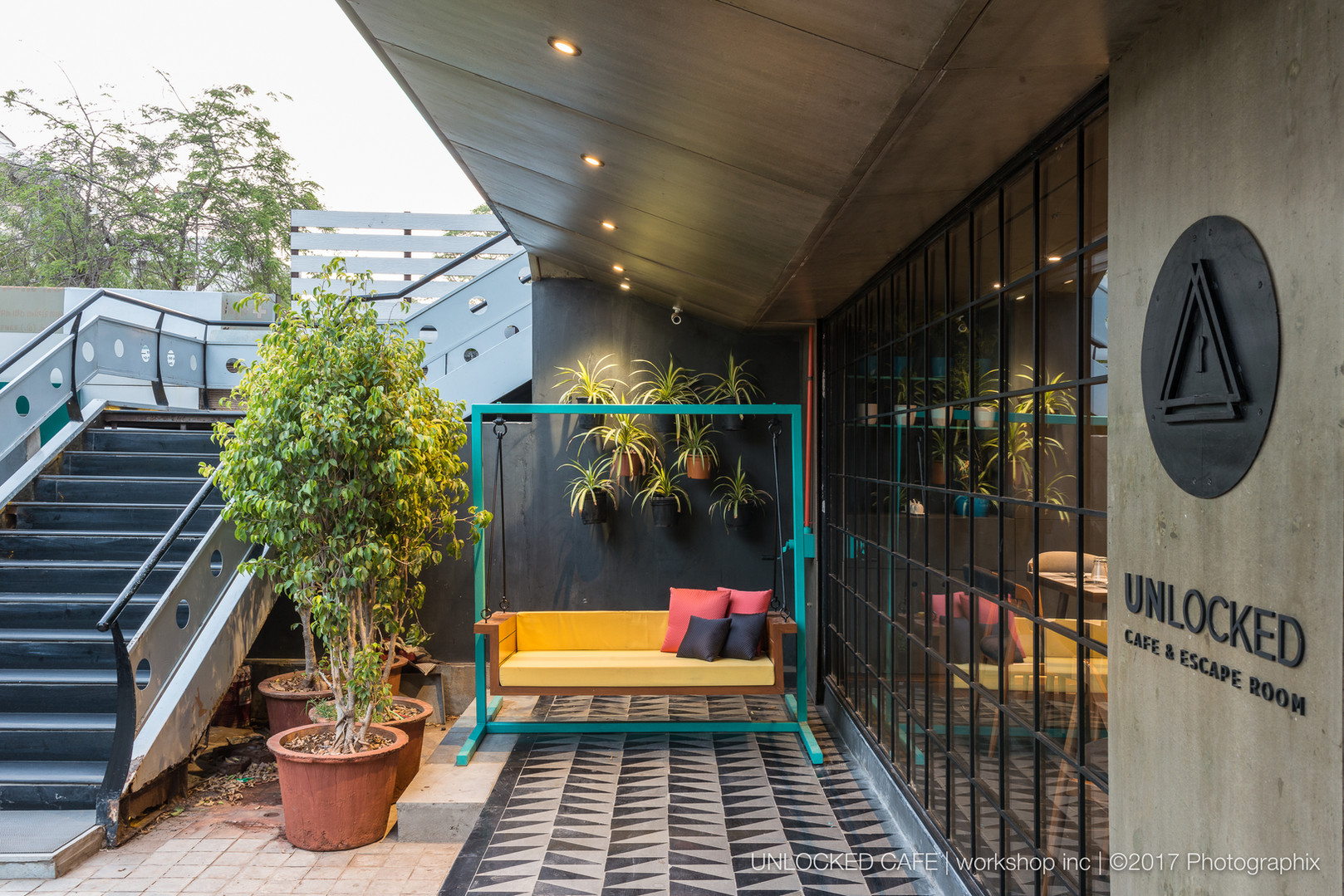 Quirky interiors and exteriors