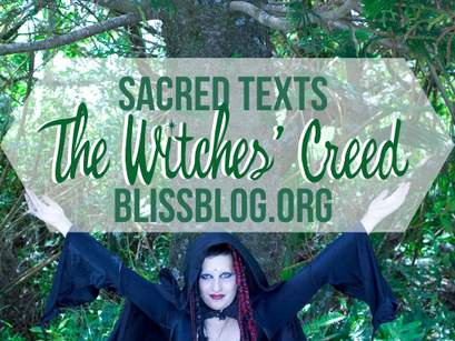 Sacred Texts of the Craft: The Witches' Creed