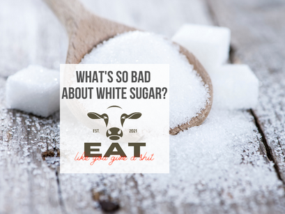 What's so bad about white sugar?