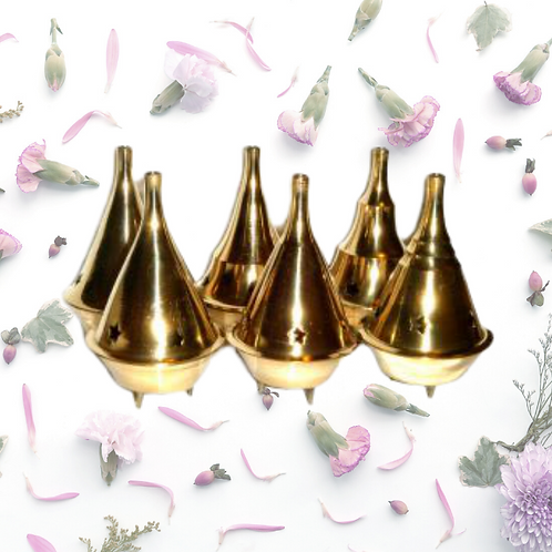 Jumbo Cone Burners - Brass