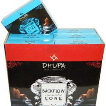 NAG CHAMPA Back Flow Incense Cones by Dhupa