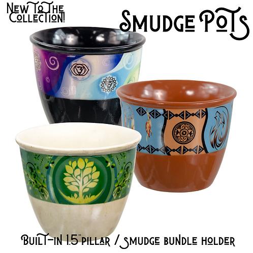 Smudge Pots - Ceramic