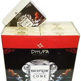 WHITE SAGE Back Flow Incense Cones by Dhupa