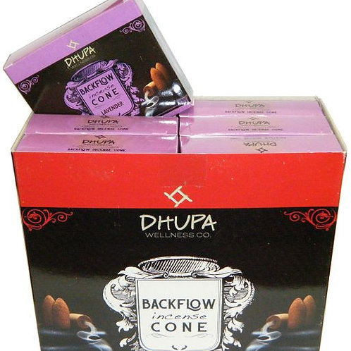 LAVENDER Back Flow Cones by Dhupa