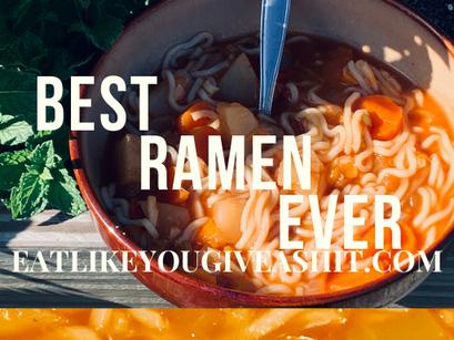 Best Vegan Crockpot Ramen Ever