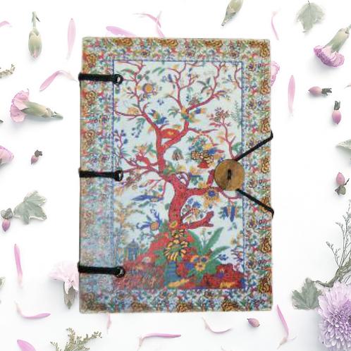 Handmade Journal - Colorful Tree of Life
