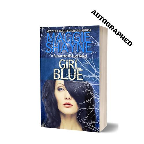GIRL BLUE in Trade Paperback