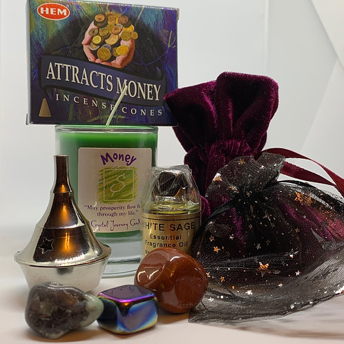 LadyHawk's Money Spell Kit
