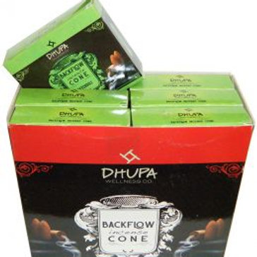 PATCHOULI Back Flow Incense Cones by Dhupa