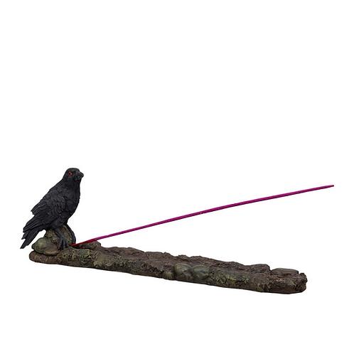 Raven Stick Incense Holder