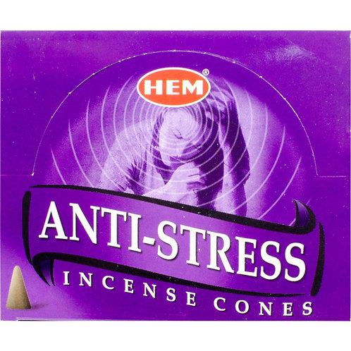Incense Cones, Anti-Stress (Box of 10)