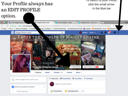 Pages and Profiles and Promo, Oh My!
