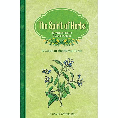 HERBAL TAROT COMPANION BOOK - The Spirit of Herbs