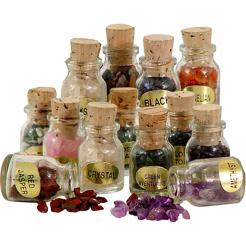 Gemstone Nugget Bottles