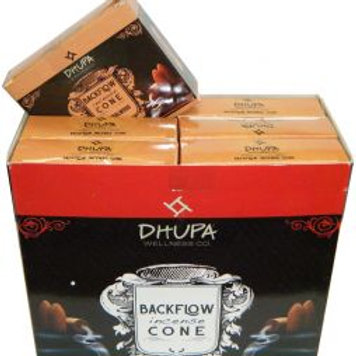 SANDALWOOD Back Flow Incense Cones by Dhupa
