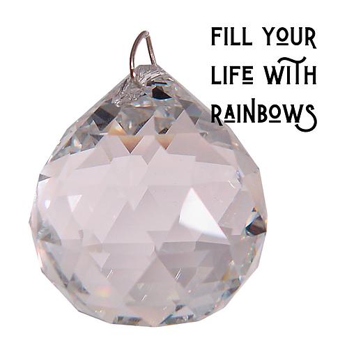 Big 40 mm Crystal Prism Sphere