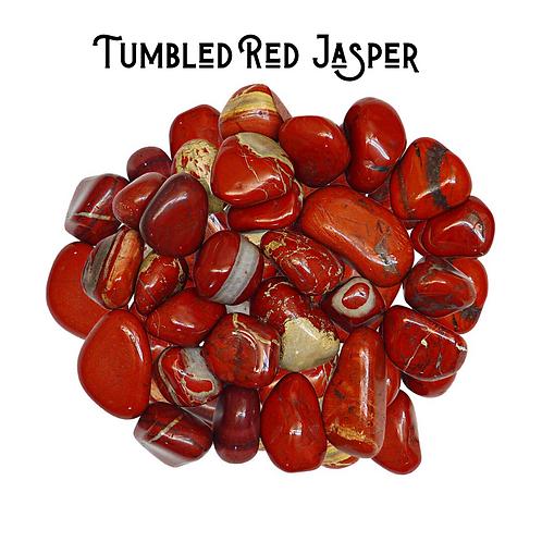 Tumbled Red Jasper