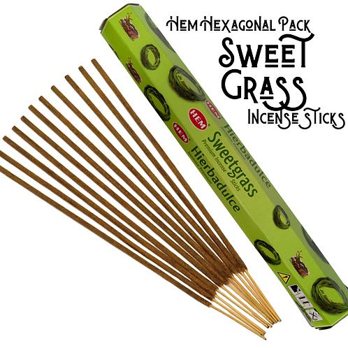 Sweet Grass Incense Sticks