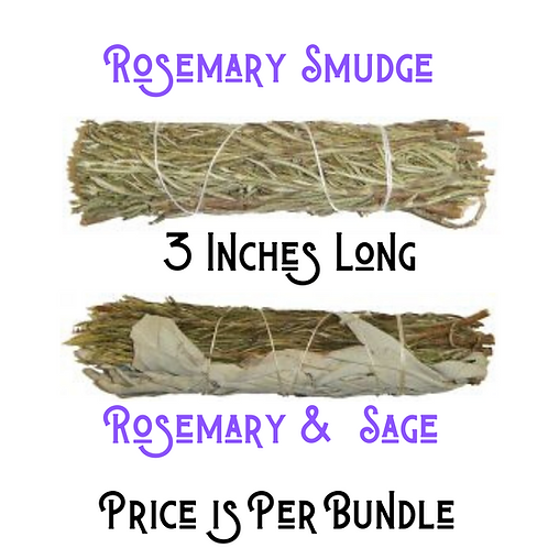 Rosemary and Rosemary - Sage Smudges
