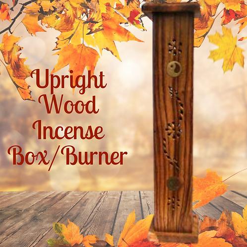 Wooden Tower - Carved Incense Burner