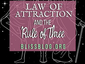 Law of Attraction and The Rule of Three