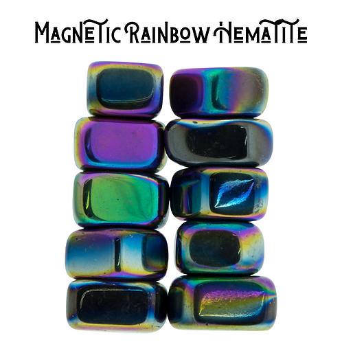 Magnetic Rainbow Hematite