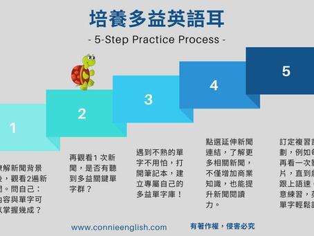 訓練英語耳 Step by Step