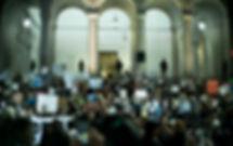 Protest_Cops City hall.jpg