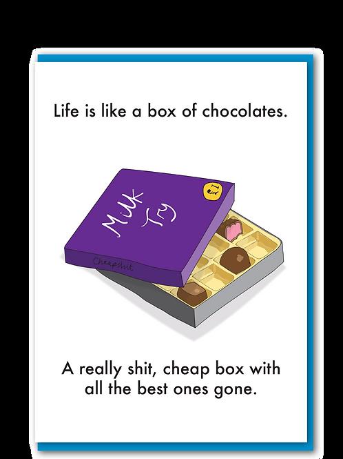 Shit Box of Chocolates