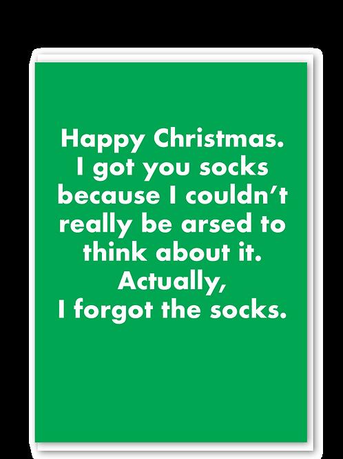 Forgot The Socks
