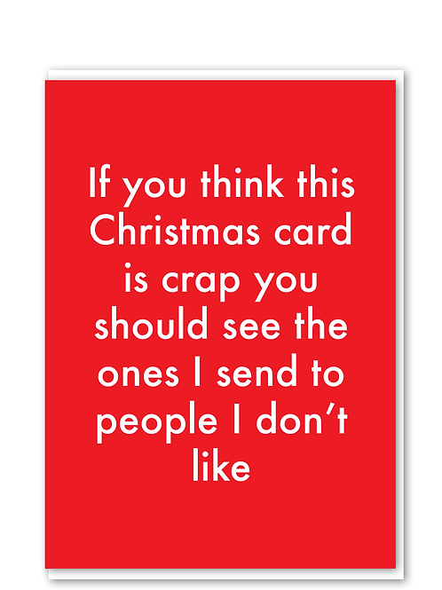 Crap Christmas